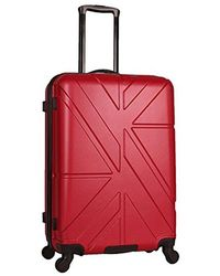"""Ben Sherman - 24"""" Abs 4-wheel Check In Luggage - Lyst"""