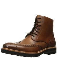 Kenneth Cole - Click Sound Combat Boot - Lyst