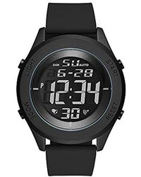 Skechers - Wiseburn Digital Metal And Silicone Chronograph Watch, Color Black (model: Sr5102) - Lyst