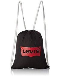 Levi's - Everyday Gym Bag, Unisex Adults' Backpack, Black (noir Regular Black), 0.5x43x36 Cm (w X H L) - Lyst