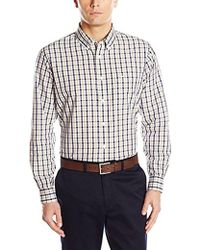a173f1ef967 Dockers - No Wrinkle Long Sleeve Button Front Shirt - Lyst