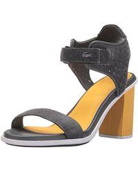 Lacoste - Lonelle Heel Sandal 216 1 Dress Pump - Lyst