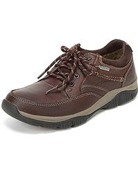 9ff75a0f088b8 Clarks Rushway Lace Gtx Mens Lace-up Shoe in Brown for Men - Lyst