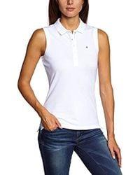 Tommy Hilfiger - 's New Chiara Str Pq Polo Ns Shirt - Lyst