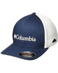 f7c9e2ce Columbia Pfg Mesh Snap Back Ballcap (white Cap/bass) Baseball Caps ...