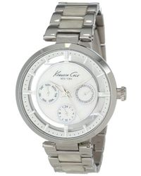 Kenneth Cole - Kc4916 Transparency White Mother Of Pearl Dial Transparency Watch - Lyst