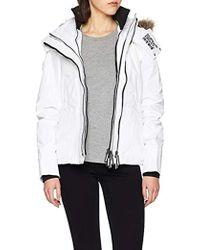 Superdry - Hooded Fur Winter Windattacker Sports Jacket - Lyst