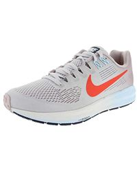 d5bc0e3353f Nike -  s W Air Zoom Structure 21 Running Shoes - Lyst