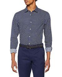 Scotch & Soda - Regular Fit Classic all-Over Printed Shirt, Camicia Uomo, Multicolore (Combo C 0219), Medium - Lyst