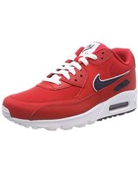 huge selection of 3d956 d9ea3 Nike - Air Max 90 Essential Trainers - Lyst