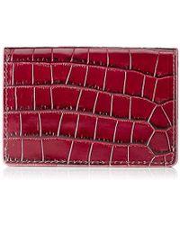 L.K.Bennett - L.k. Bennett Porthia, 's Card Case, Red (bordeaux), 1.5x7x10.5 Cm (b X H T) - Lyst