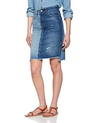 Pepe Jeans - Patchy Skirt - Lyst