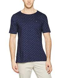 290a852f5ba6 Tommy Hilfiger Lapis Blue T-shirt in Blue for Men - Lyst