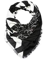 Calvin Klein - Quilt Foulard Scarf - Lyst