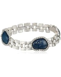 "Sam Edelman - Lapis Watchband Line Bracelet, 7.5"" - Lyst"