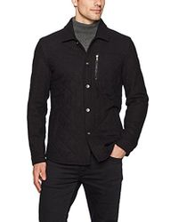John Varvatos - Quilted Cpo Jacket - Lyst