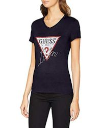 Guess - SS VN Icon Tee T-Shirt Donna - Lyst