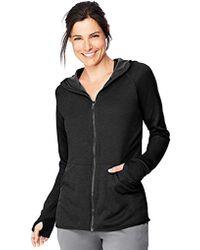 Hanes - Sport Performance Fleece Full Zip Hoodie - Lyst