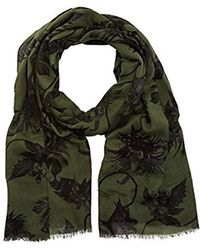 Guess - Scarf Green Green One Size - Lyst