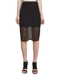 Finders Keepers - Stand Still Skirt In Black - Lyst