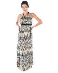 T-bags - Zig Zag Maxi Dress - Lyst