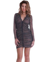 Bailey 44 | Film D'art Dress In Taupe | Lyst