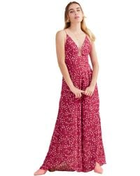 6a8e7cd08a7 Finders Keepers - Twilight Jumpsuit In Cherry Star - Lyst