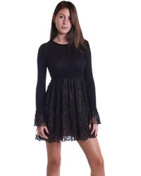 262b3b8040 Lyst - Bailey 44 Pos De Chat Top In Black in Black