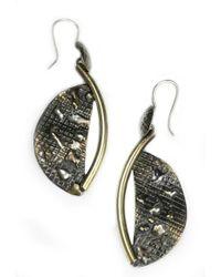 Sibilla G Jewelry | Sibilla G Atlantis Crescent Moon Fashion Earrings | Lyst