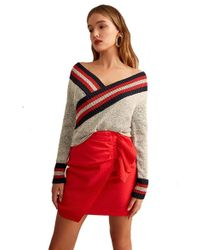 C/meo Collective - Sculpt Knit Top - Lyst