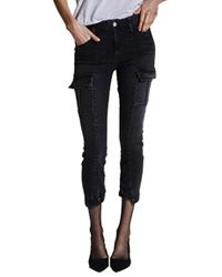 Mcguire - Valenti Cargo Trouser In Ace Of Spades - Lyst