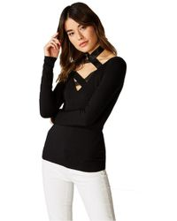 Bailey 44 - Don't Cross Me Jersey Top - Lyst