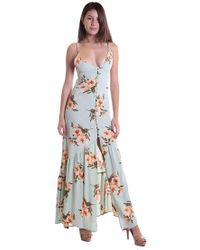 Flynn Skye | Unbutton Me First Maxi Dress In Mint | Lyst