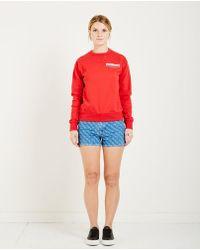 WOOD WOOD | Flora Crewneck Sweatshirt | Lyst