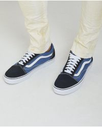 Vans - Contrasting Panels Lace-up Sneakers - Lyst