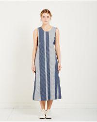 Engineered Garments   Gingham Stripe Sun Dress   Lyst