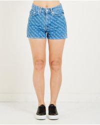 WOOD WOOD - Oda Denim Shorts - Lyst