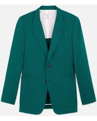 AMI - Two Buttons Long Fit Jacket - Lyst