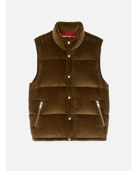 AMI - Quilted Down Vest - Lyst