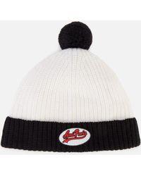 05c35365f0f5cc Lyst - KTZ 'traditional Stripe - Chicago Bears' Pompom Knit Hat in ...