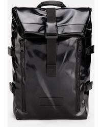 AMI - Roll Top Backpack - Lyst
