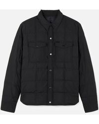 AMI - Snap-buttonned Quilted Jacket - Lyst