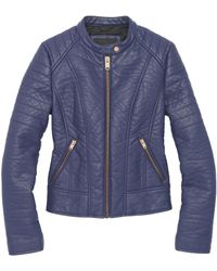 Andrew Marc - Blakely Faux Leather Moto Jacket - Lyst