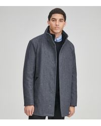 Andrew Marc - Coyle Wool Car Coat - Lyst