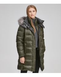 Andrew Marc - Skylar Quilted Down Jacket - Lyst