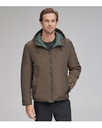 Andrew Marc - Crosby Microsheen Reversible Jacket - Lyst