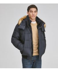 Andrew Marc - Clermont Matte Down Bomber - Lyst
