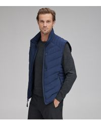 Andrew Marc - Withers Quilted Down Vest - Lyst