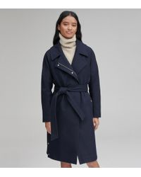Andrew Marc - Woodrow Wool Belted Coat - Lyst
