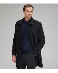 Andrew Marc - Edmund Wool Top Coat - Lyst